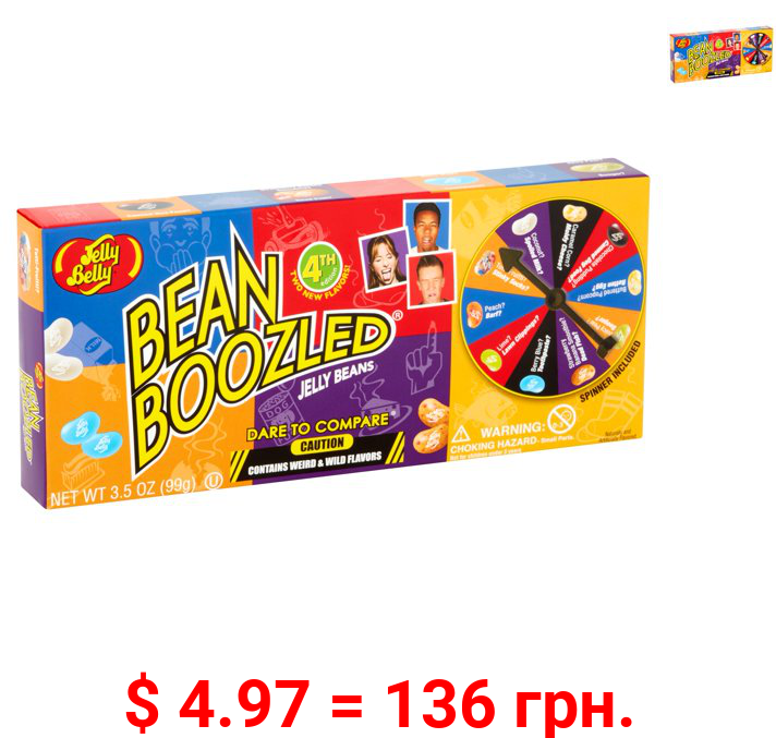 Jelly Belly BeanBoozled Jelly Beans, 20 Assorted Flavors, 3.5 oz Theater Box