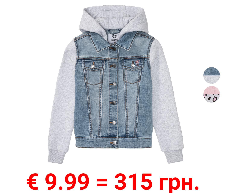 PEPPERTS® Jeansjacke Mädchen, mit Baumwolle