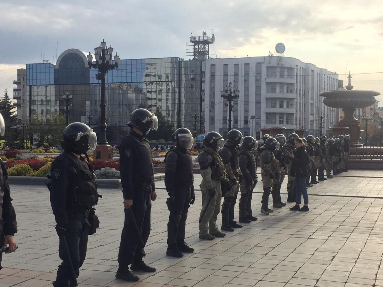Митинг на площади Ленина в Хабаровске не согласовали
