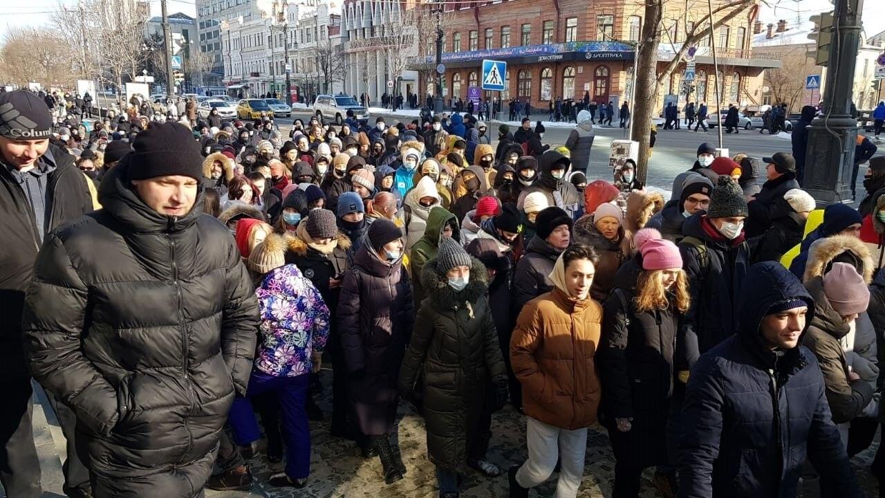 ВХабаровске вновь задержали координатора штаба Навального