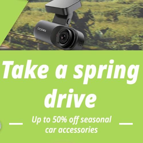 Take a spring drive(EUR)