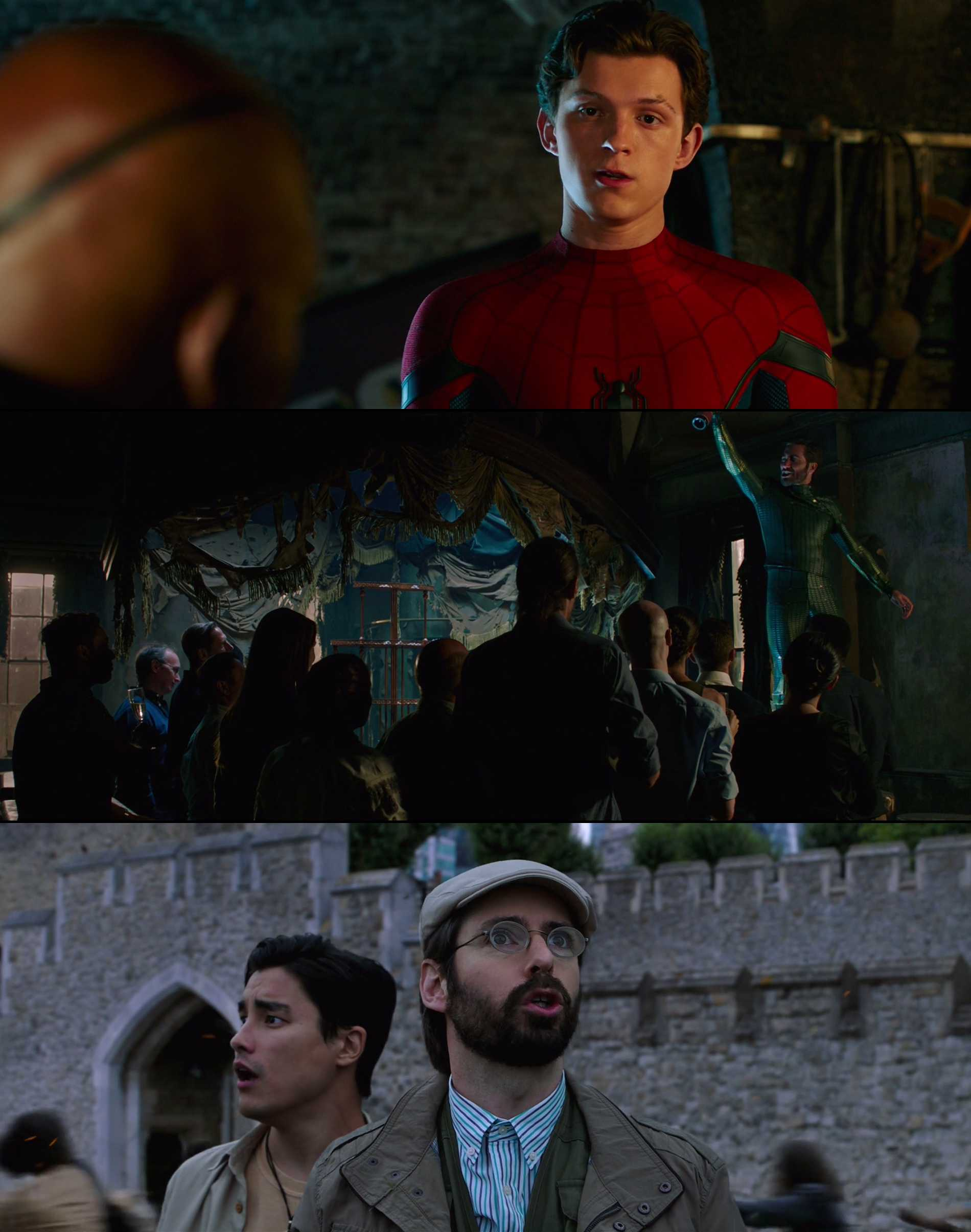 Screenshot of Spider-Man: Far from Home Movie