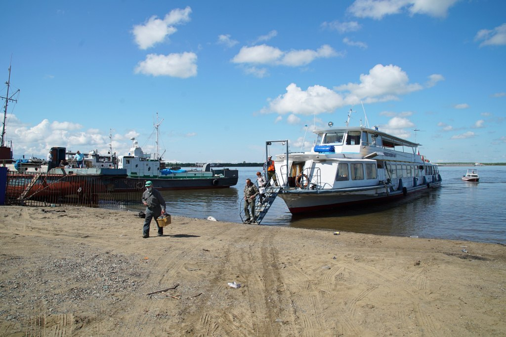 С 1 мая стартует навигация по Амуру