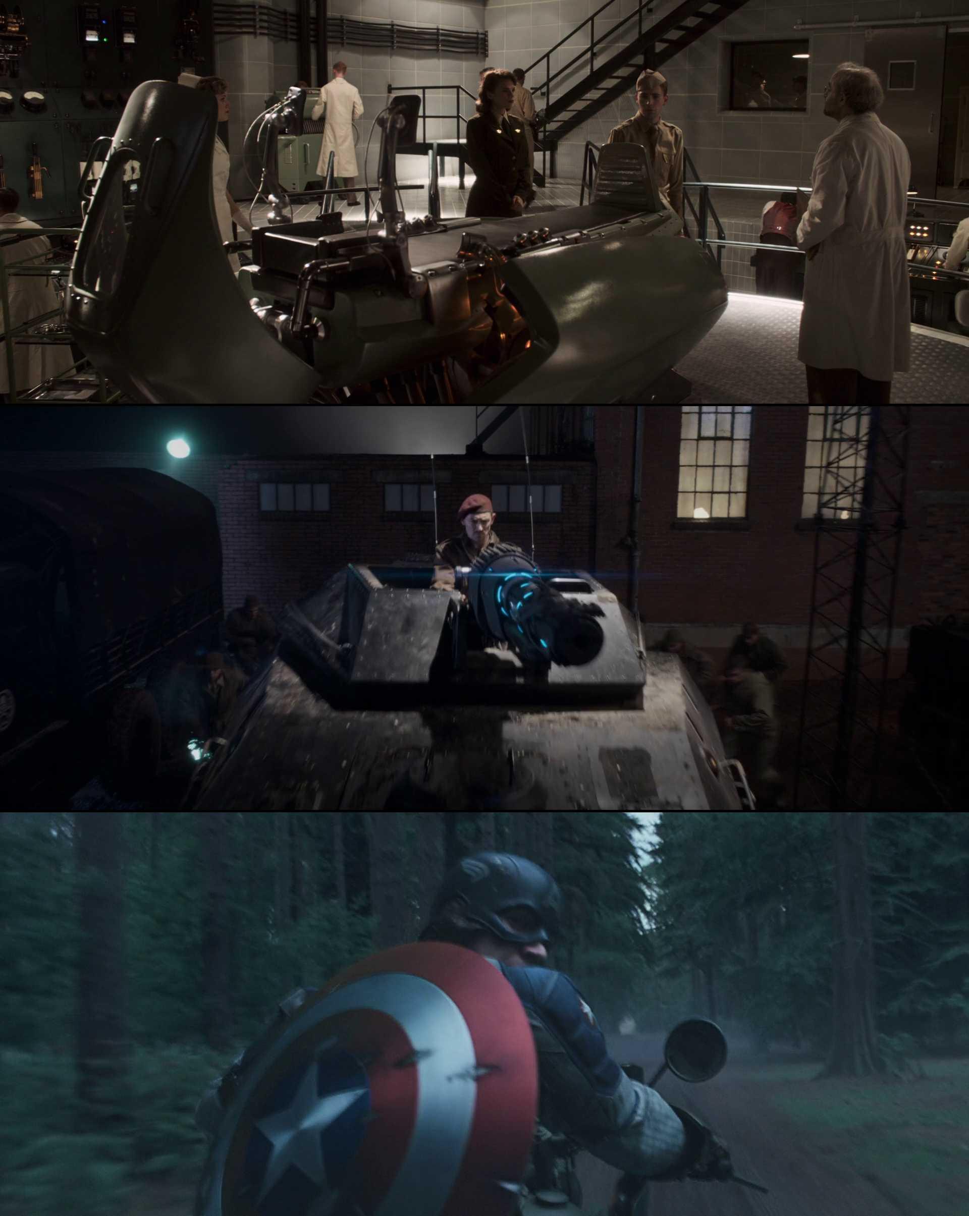Screenshot of Captain America: The First Avenger Movie