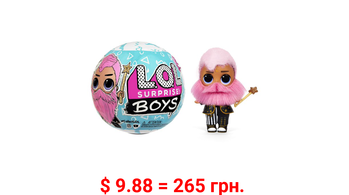 LOL Surprise Boys Series 5 Boy Doll with 7 Surprises, Accessories, Surprise Dolls with Flocked Hair