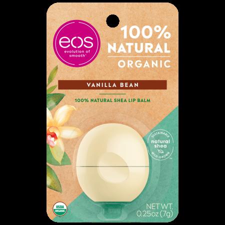 eos 100% Natural & Organic Lip Balm Sphere - Vanilla | 0.25 oz