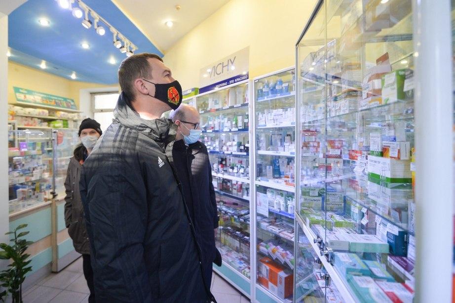 Антибиотики обещанные Дегтярёвым так и не появились в аптеках Хабаровска