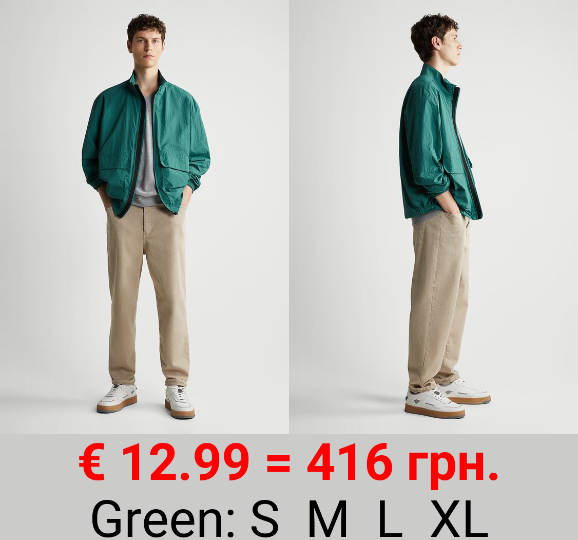 TECHNICAL JACKET WITH POCKETS