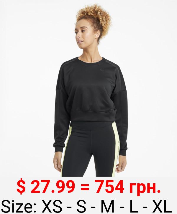Zip Women's Training Crewneck Sweatshirt
