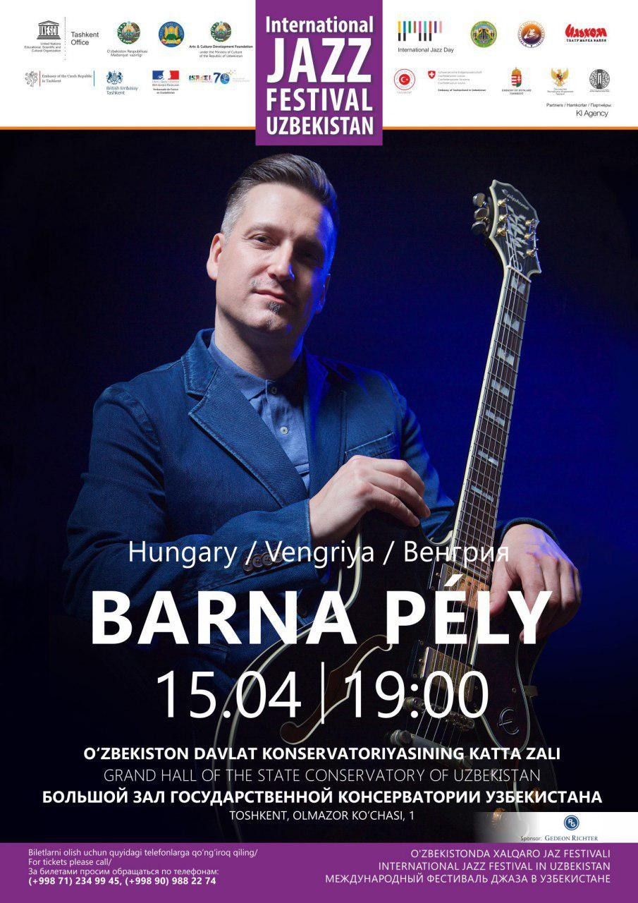 International Jazz Festival in Uzbekistan: Berna Pely