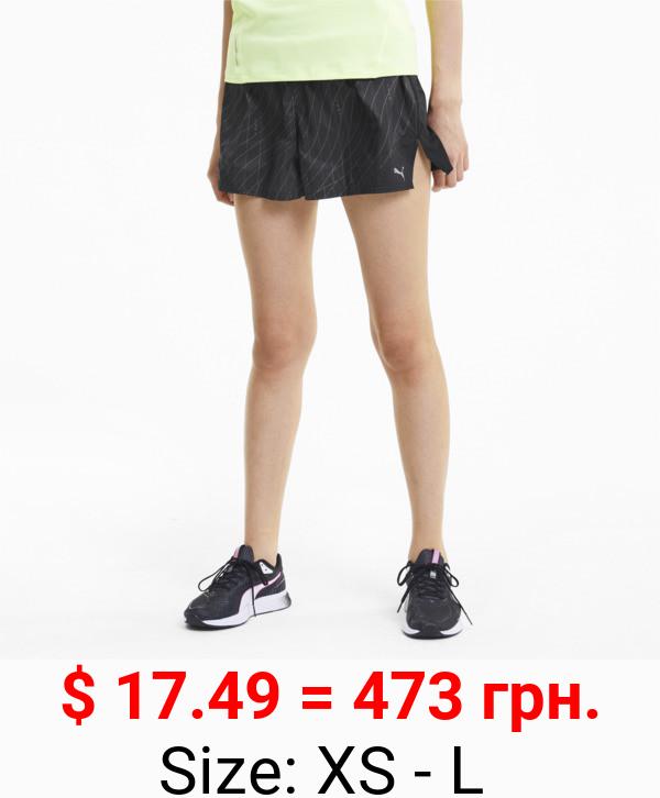 Run Graphic Women's Shorts
