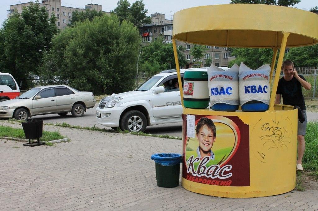 Сезон уличной торговли начался в Хабаровске