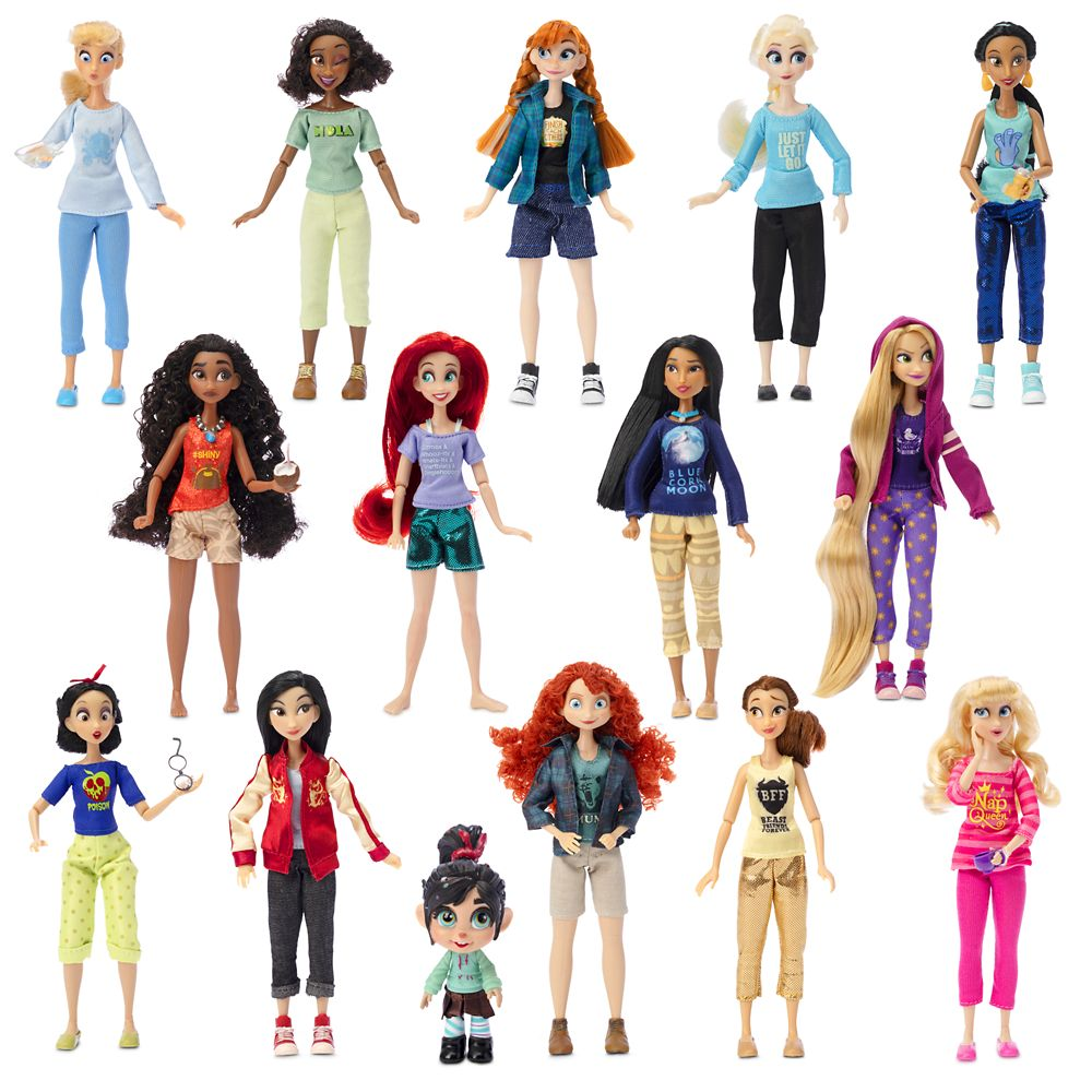 Vanellope with ''Comfy Princesses'' Dolls Gift Set – Ralph Breaks the Internet