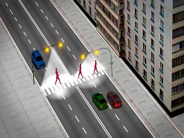 Пешеходные переходы с подсветкой появятся в Хабаровске