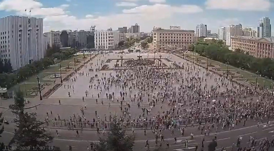 Активисты предложили переименовать пл. Ленина в пл. Свободы
