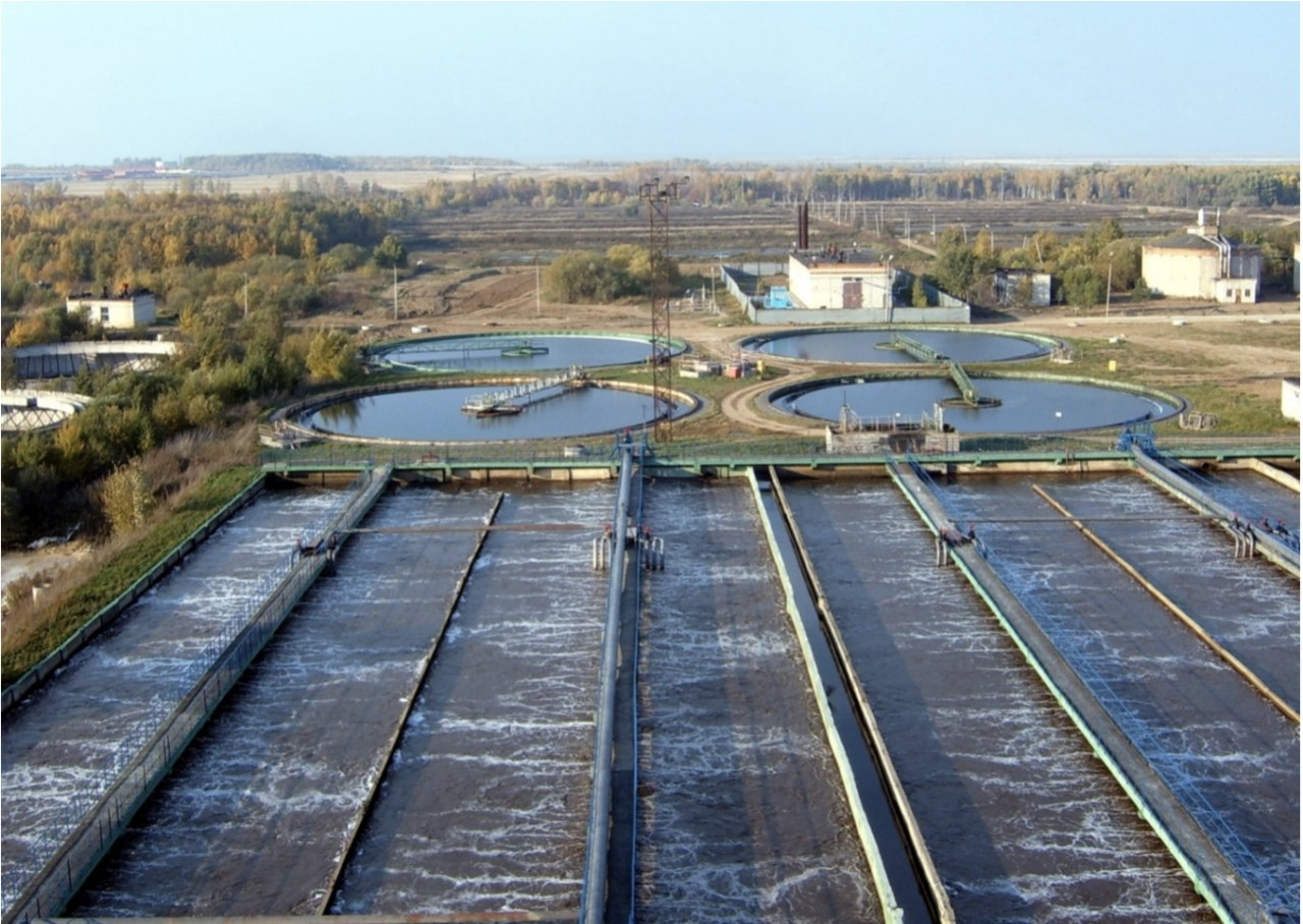 Системы очистки сточных вод хабаровского Водоканала