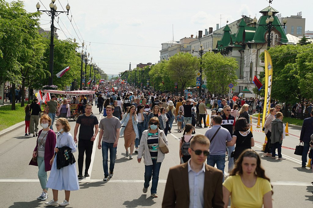 Арт-фестиваль «Счастливый Хабаровск» состоялся на главной улице города