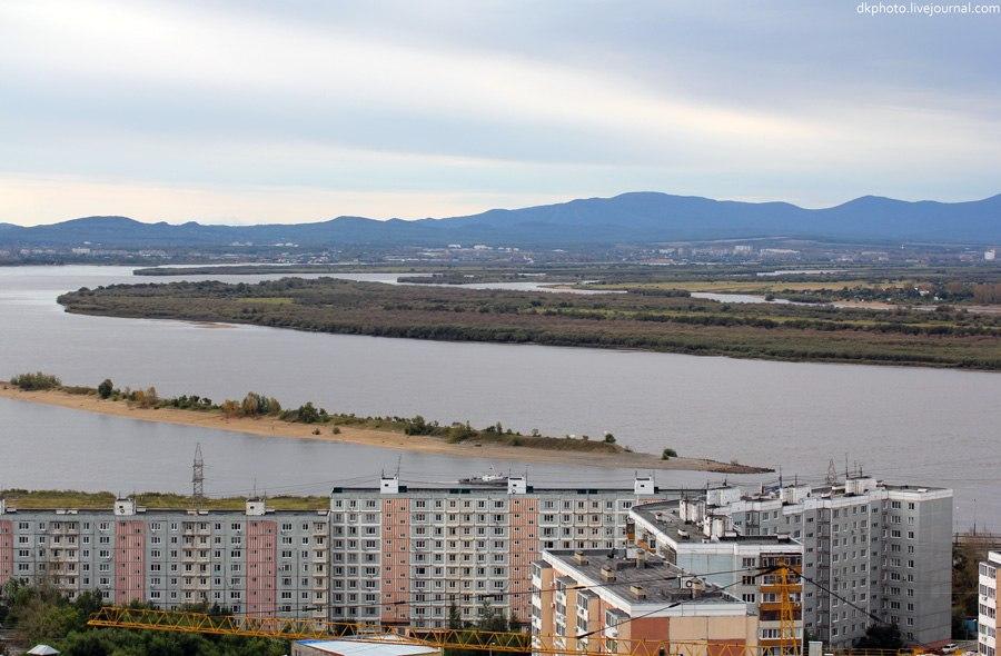 Расстояние от Хабаровска до границы с Китаем