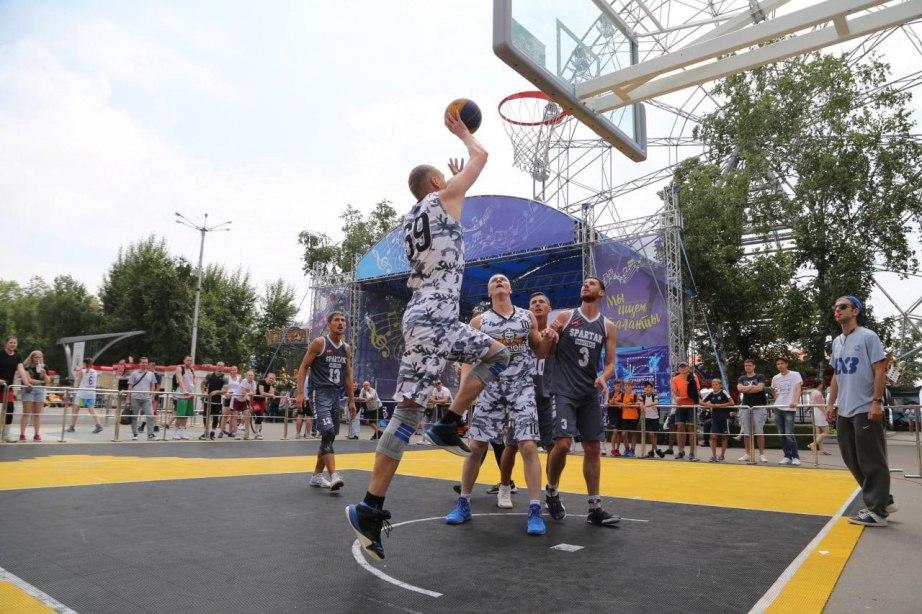 Турнир по стритболу пройдет в Хабаровске