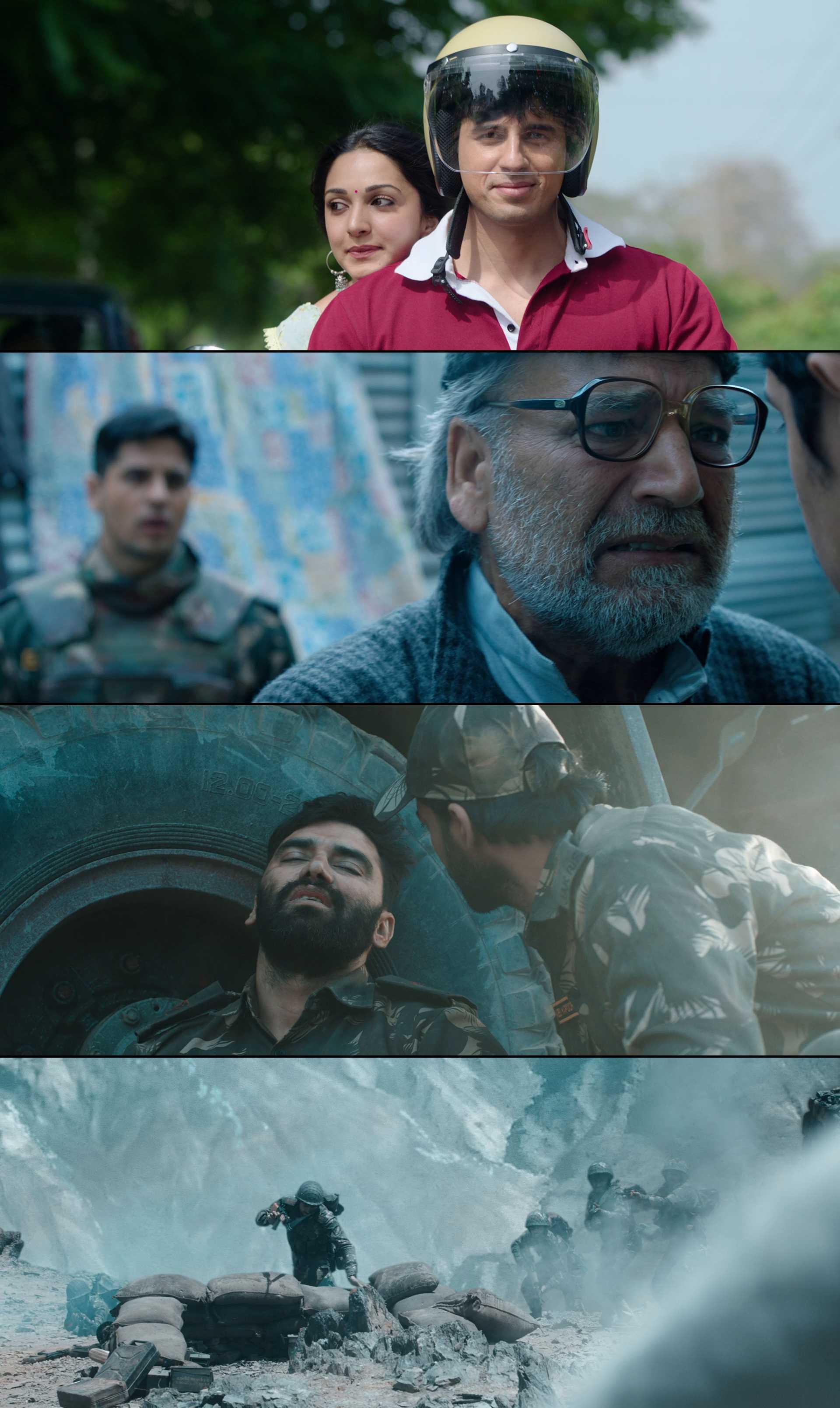 Screenshot of Shershaah Movie