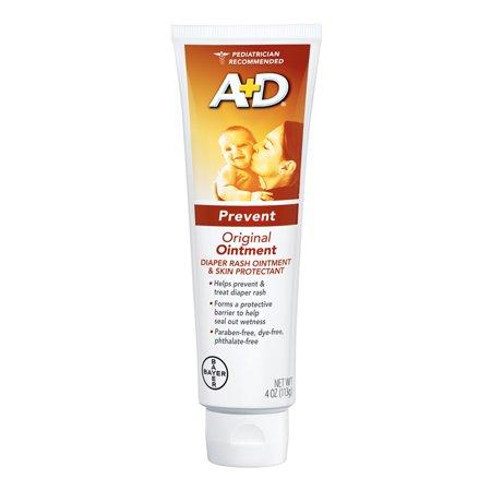A+D Original Diaper Rash Ointment, Skin Protectant, 4 oz