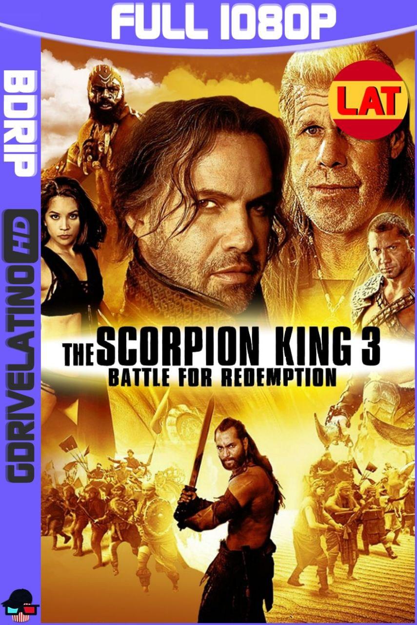 El Rey Escorpión 3: Batalla por la Redención (2012) Full HD BDRip 1080p Latino-Ingles MKV