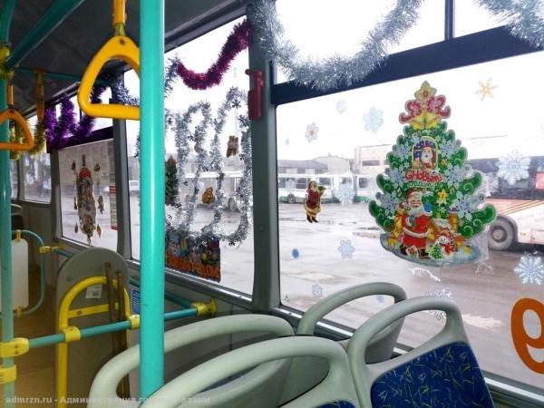 В Хабаровске пройдет конкурс на лучшее новогоднее оформление пассажирского транспорта