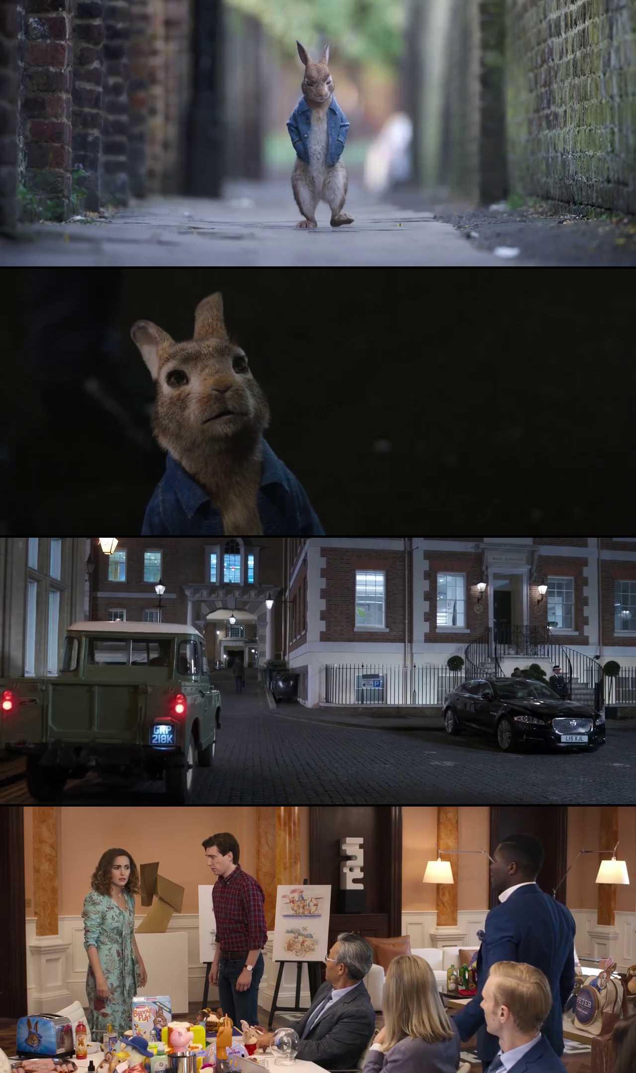 Screenshot of Peter Rabbit 2: The Runaway Movie