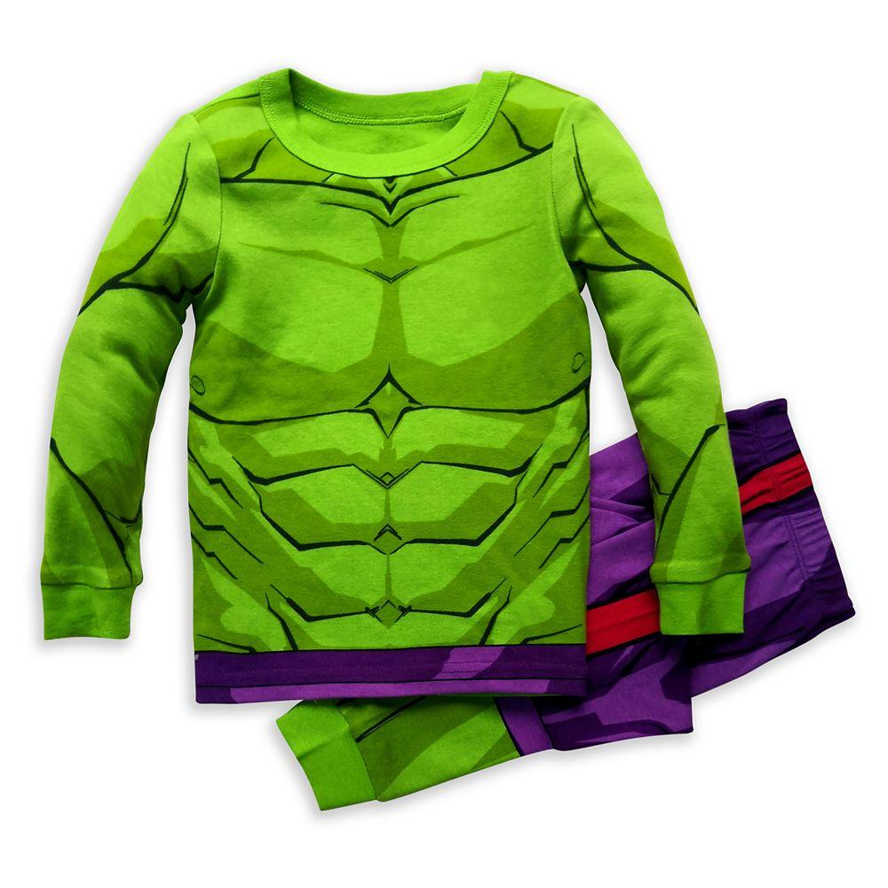 Hulk Costume PJ PALS for Boys