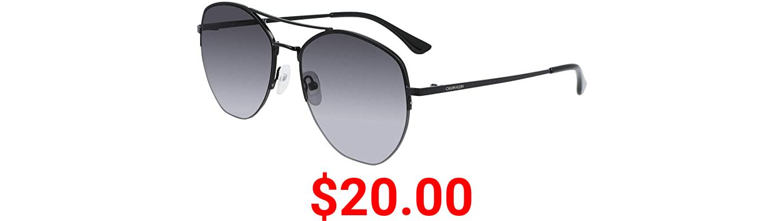 Calvin Klein Women's Ck20121s Pilot Sunglasses