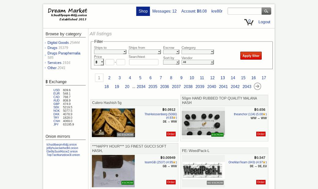 Dream market darknet тор браузер законно ли hydra