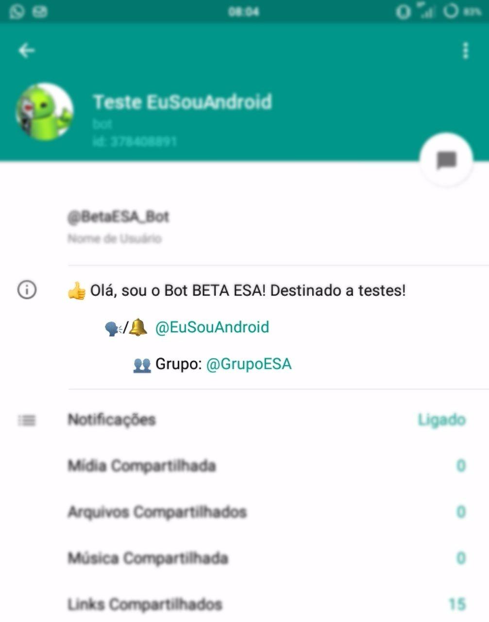 Como adicionar descrição ao seu BOT no Telegram