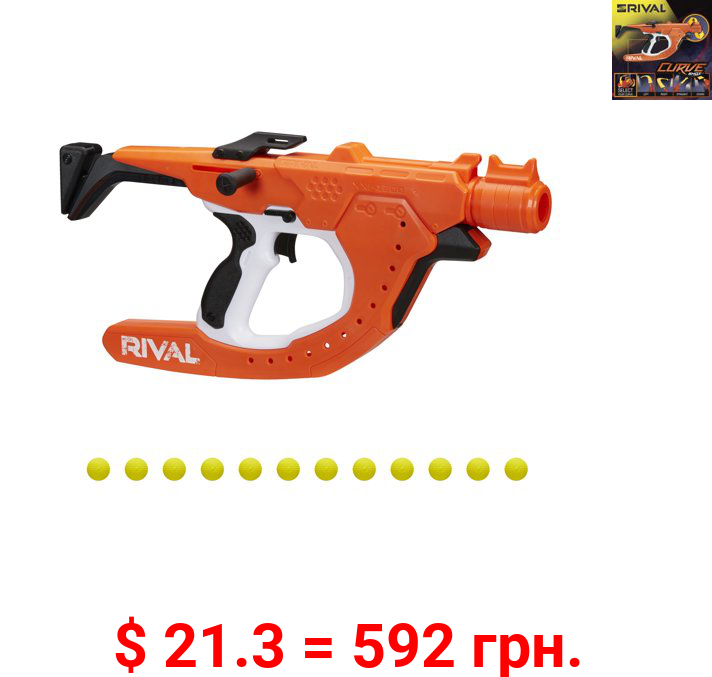 Nerf Rival Curve Shot, Sideswipe XXI-1200 Blaster, Fire Rounds to Curve
