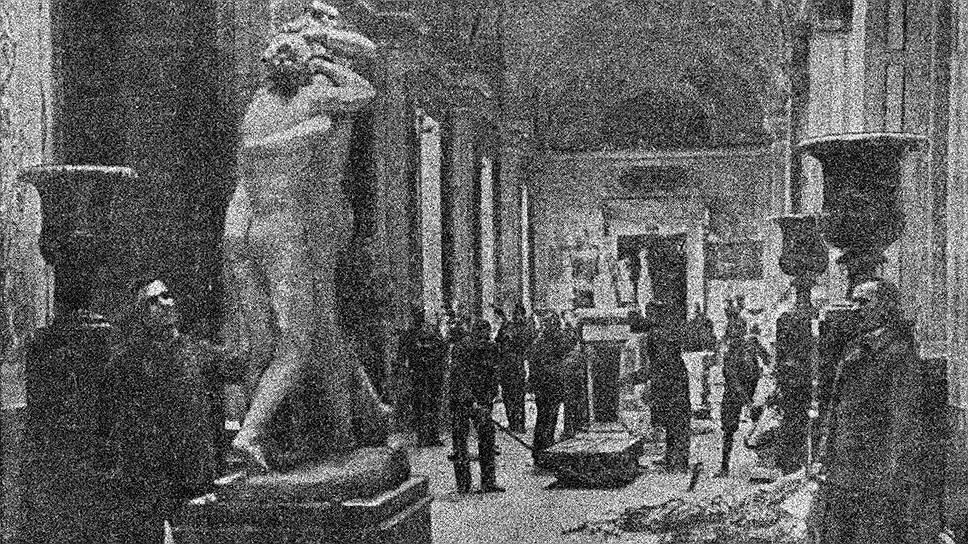 Эвакуация Эрмитажа во время революции