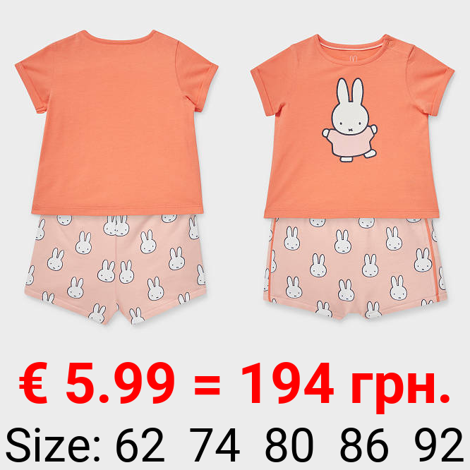 Miffy - Baby-Outfit - Bio-Baumwolle