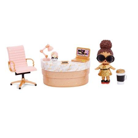 L.O.L. Surprise! Furniture School Office with Boss Queen & 10+ Surprises