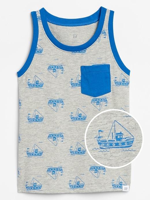 Toddler Pocket Tank Top