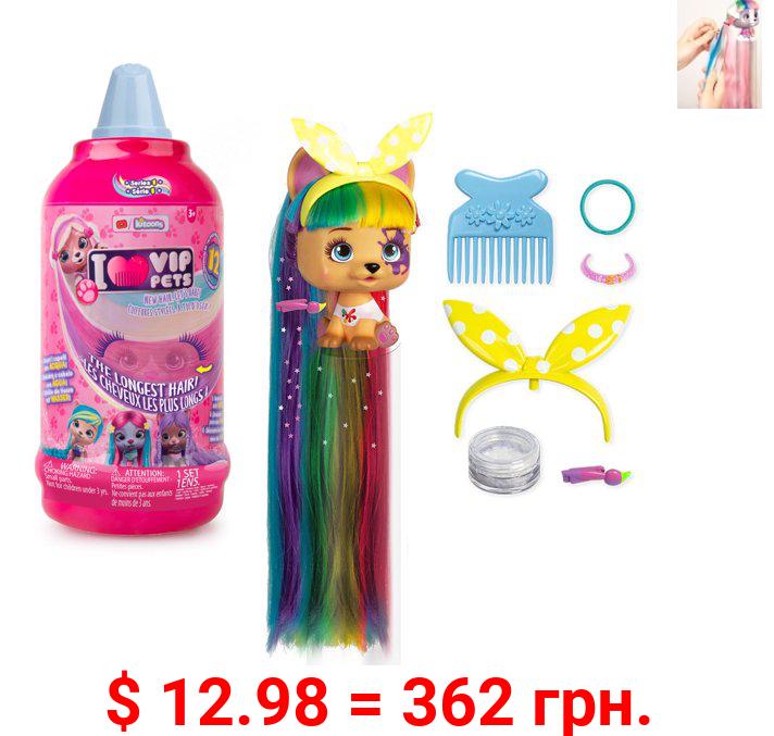 VIP Pets - Mousse Bottle Surprise Hair Reveal Doll
