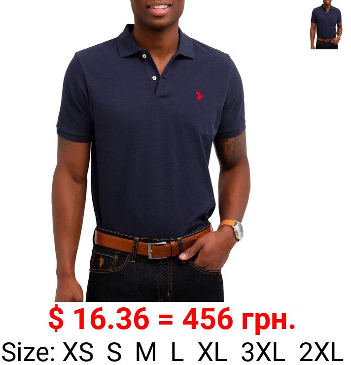 U.S. Polo Assn. Men's Pique Small Logo Polo Shirt