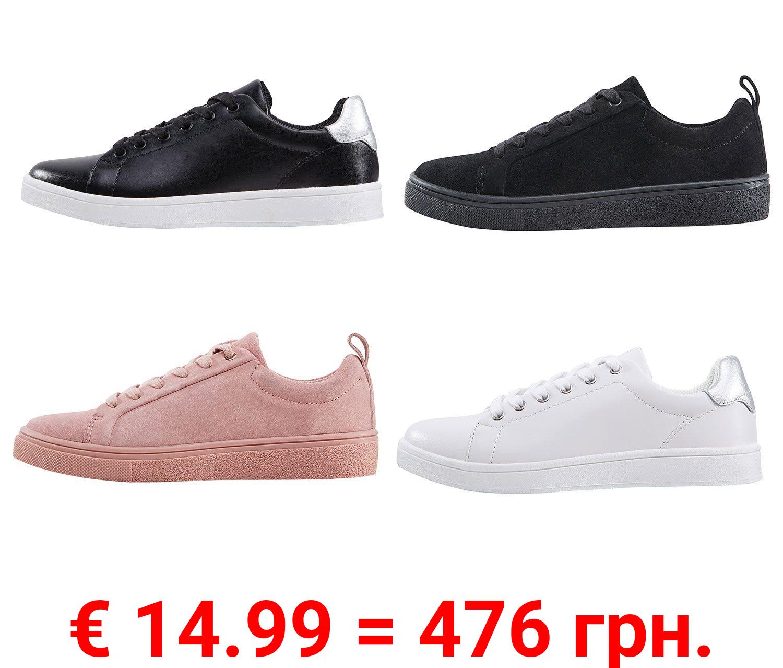ESMARA® Sneaker Damen, Zungen- und Schaftrandpolsterung, mit Schnürung, bequem