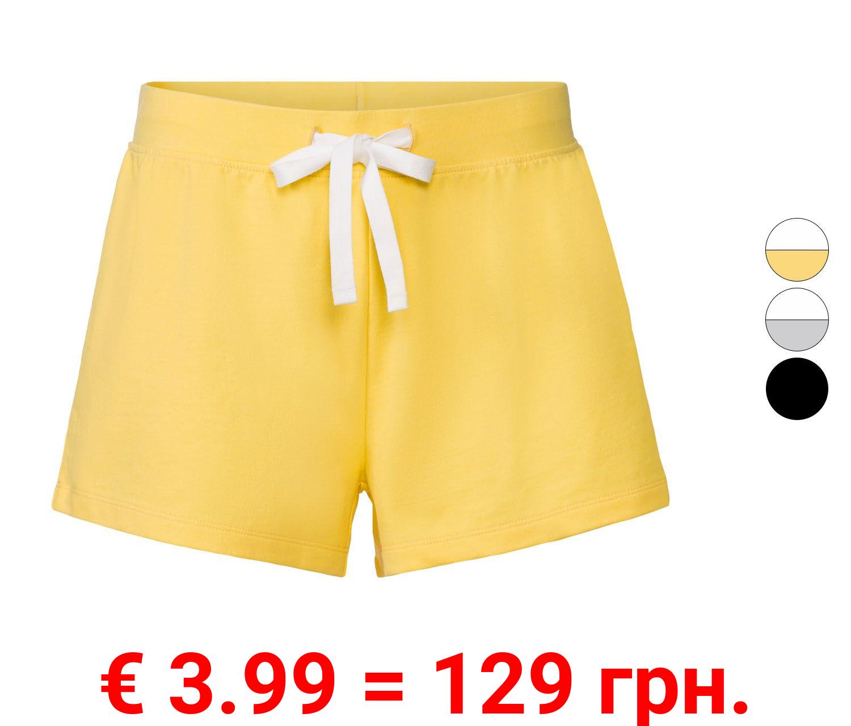 ESMARA® Hotpants Damen, normale Leibhöhe