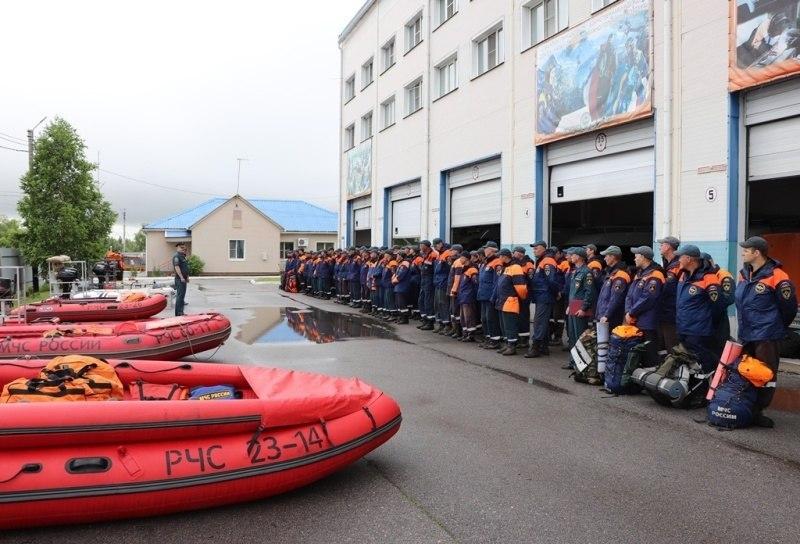 МЧС готовится к наводнению в Хабаровске