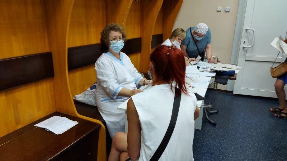 Вакцина от COVID-19 закончилась в Хабаровске