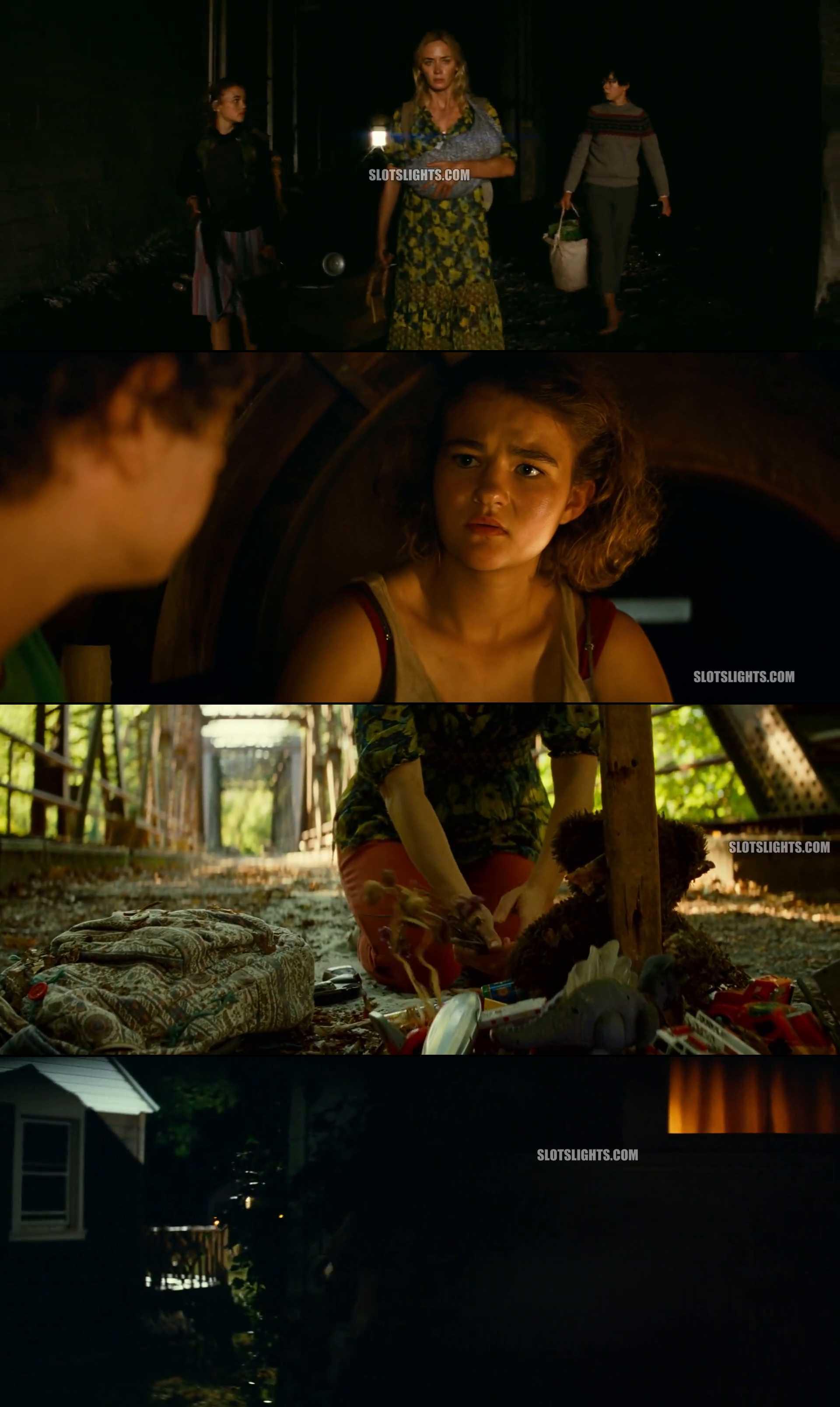 Screenshot of A Quiet Place Part II Movie