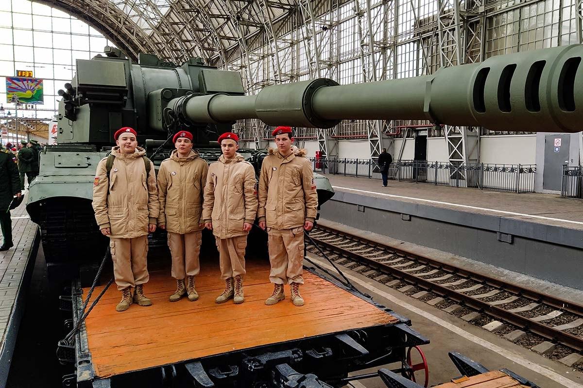 """Поезд Минобороны """"Мы армия страны! Мы армия народа!"""" посетит Хабаровск"""