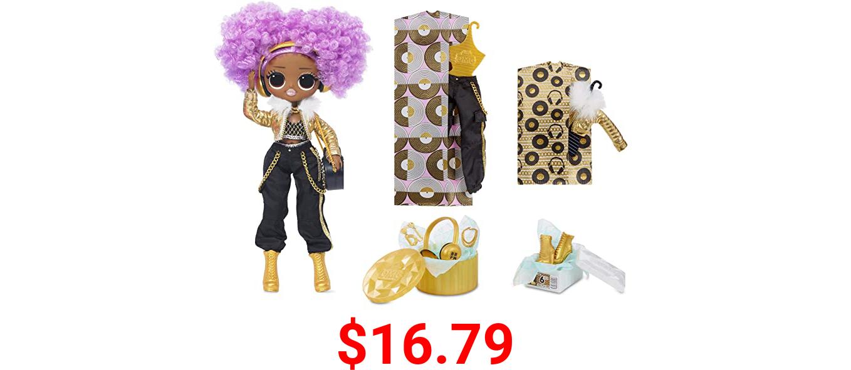 LOL Surprise OMG 24K D.J. Fashion Doll with 20 Surprises