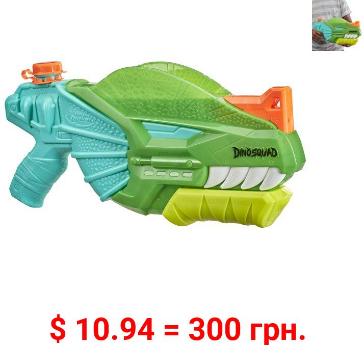 Nerf Super Soaker DinoSquad Dino-Soak Water Blaster, For Outdoor Water Games