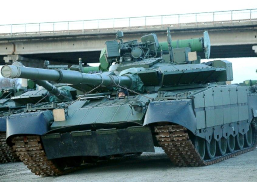 """""""Летающие танки"""" Т-80БВМ"""