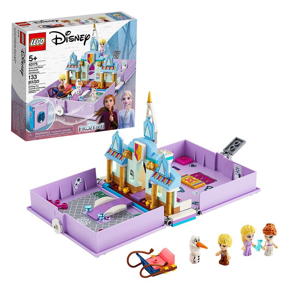 Frozen 2 LEGO set Anna and Elsa Storybook