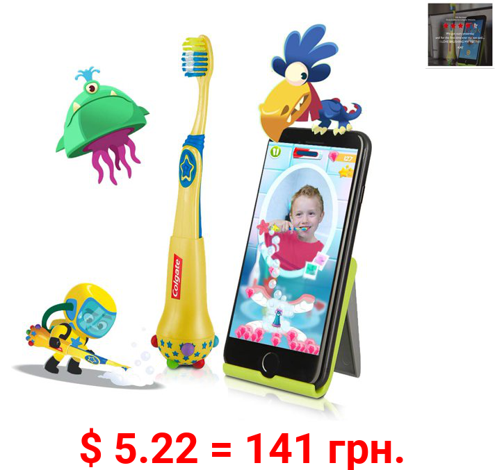 Colgate Magik Kids Smart Toothbrush for Augmented Reality App, Ages 5-11